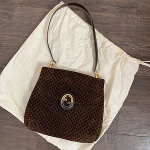 RARE Vintage Gucci Blondie Purse 1970's Chocolate